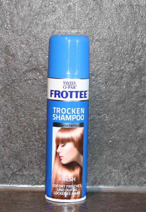 Frottee - Trockenshampoo und Haarpuder- Frischegefühl in weniger als 5 Minuten