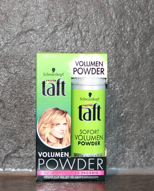 TaftHaarpuder - Trockenshampoo und Haarpuder- Frischegefühl in weniger als 5 Minuten