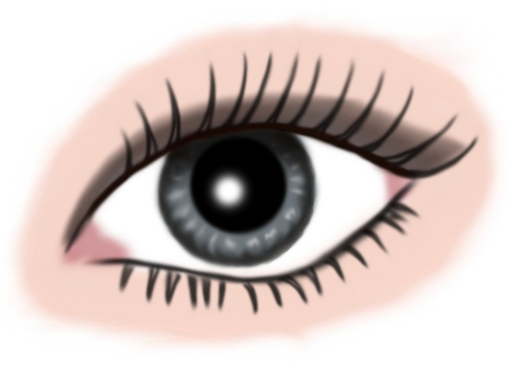 auge grau - makeup grau