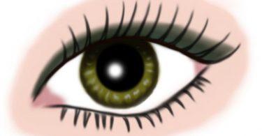 auge gruen - makeup dunkelgruen