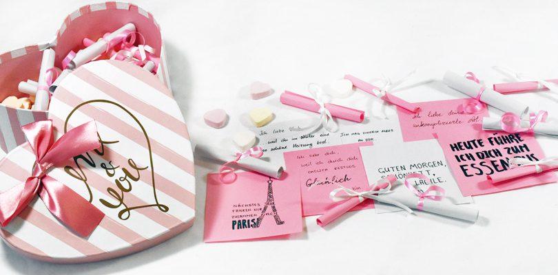 Valentinstag Überraschungsbox