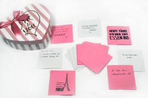 Valentinstag Überraschungsbox Material