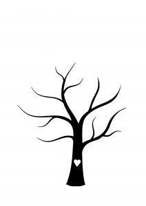 Sintre Hochzeitsbaum 212x300 - Fingerabdruck-Gästebuch: originell und vielseitig