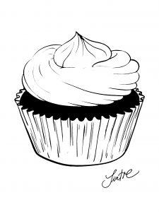 Sintre Cupcake Ausdruckgroesse 225x300 - Fingerabdruck-Gästebuch: originell und vielseitig