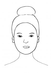Rundes Gesicht 212x300 - Die richtige Frisur für jede Gesichtsform