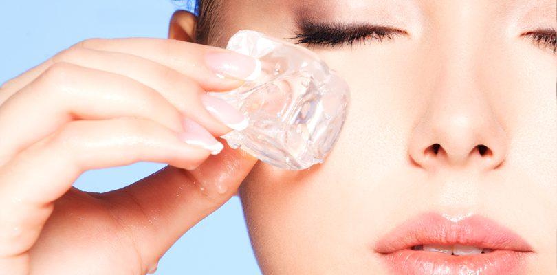 eistherapie 810x400 - Eistherapie für schöne Haut