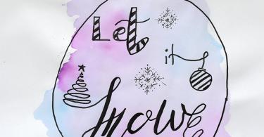 GalerieWeihnachtskugel Handlettering 375x195 - Handlettering lernen – Schritt für Schritt