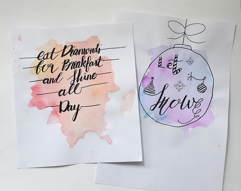 Galerie Handlettering - Handlettering lernen – Schritt für Schritt