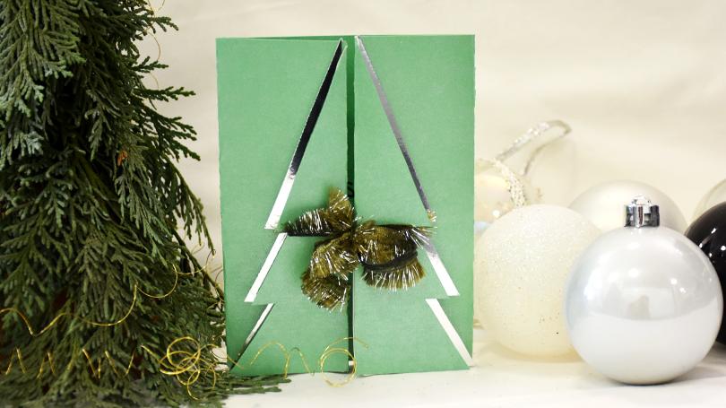 Stepp6 - Weihnachtskarten basteln: Perfekt für deine Weihnachtsgrüße