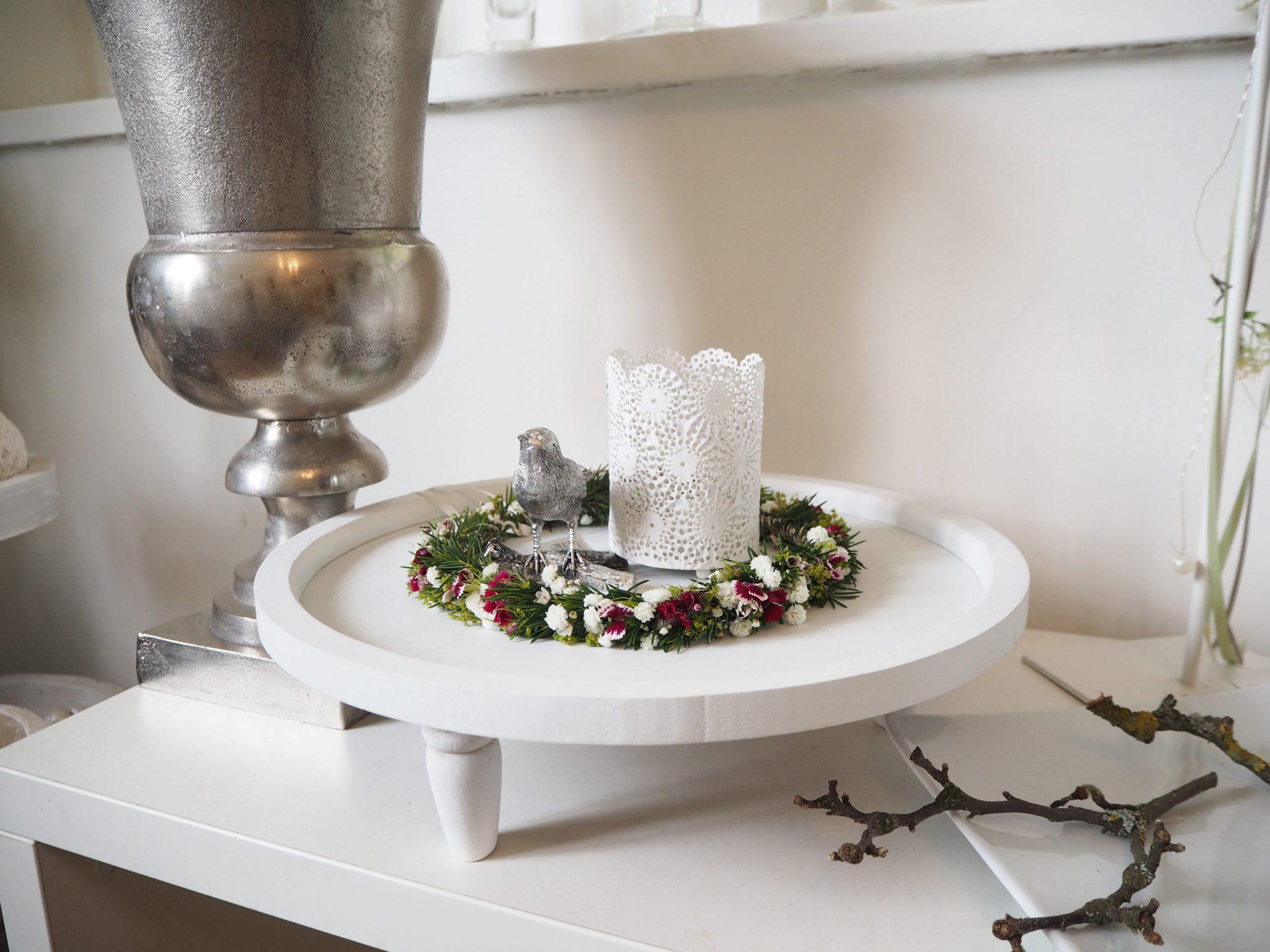 DIY Blumenkranz mit Sintre | Sintre