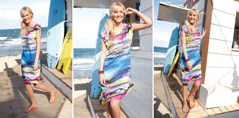 strandkleid2 810x400 - Ab in den Sommer mit den neuen Strandmoden