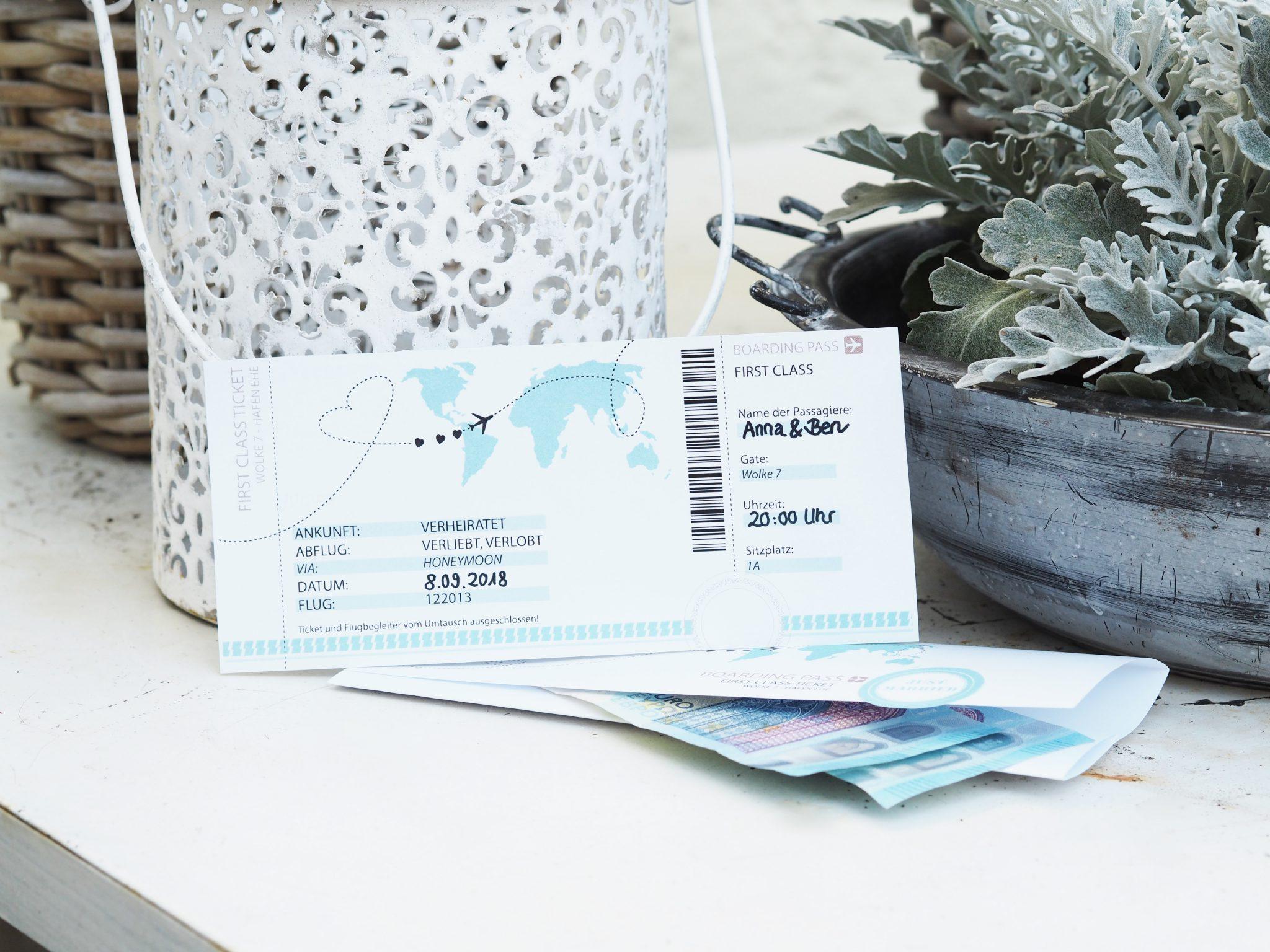 Geldgeschenk Zur Hochzeit Kostenlose Vorlage Zum Ausdrucken