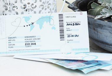 Boarding Pass einfach Geld verschenken 380x260 - Geldgeschenk zur Hochzeit: Reise in den Hafen der Ehe