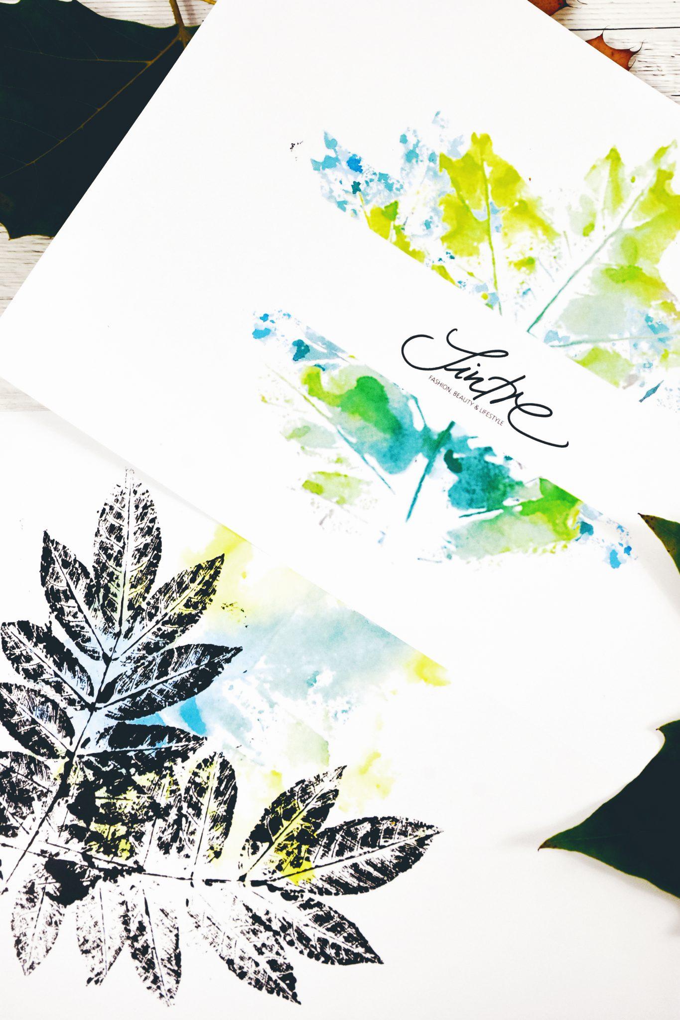 Beispiele für Blätterdruck