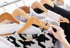 Einblick in den Kleiderschrank