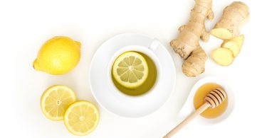 Ingwer-Shot mit Honig und Zitrone