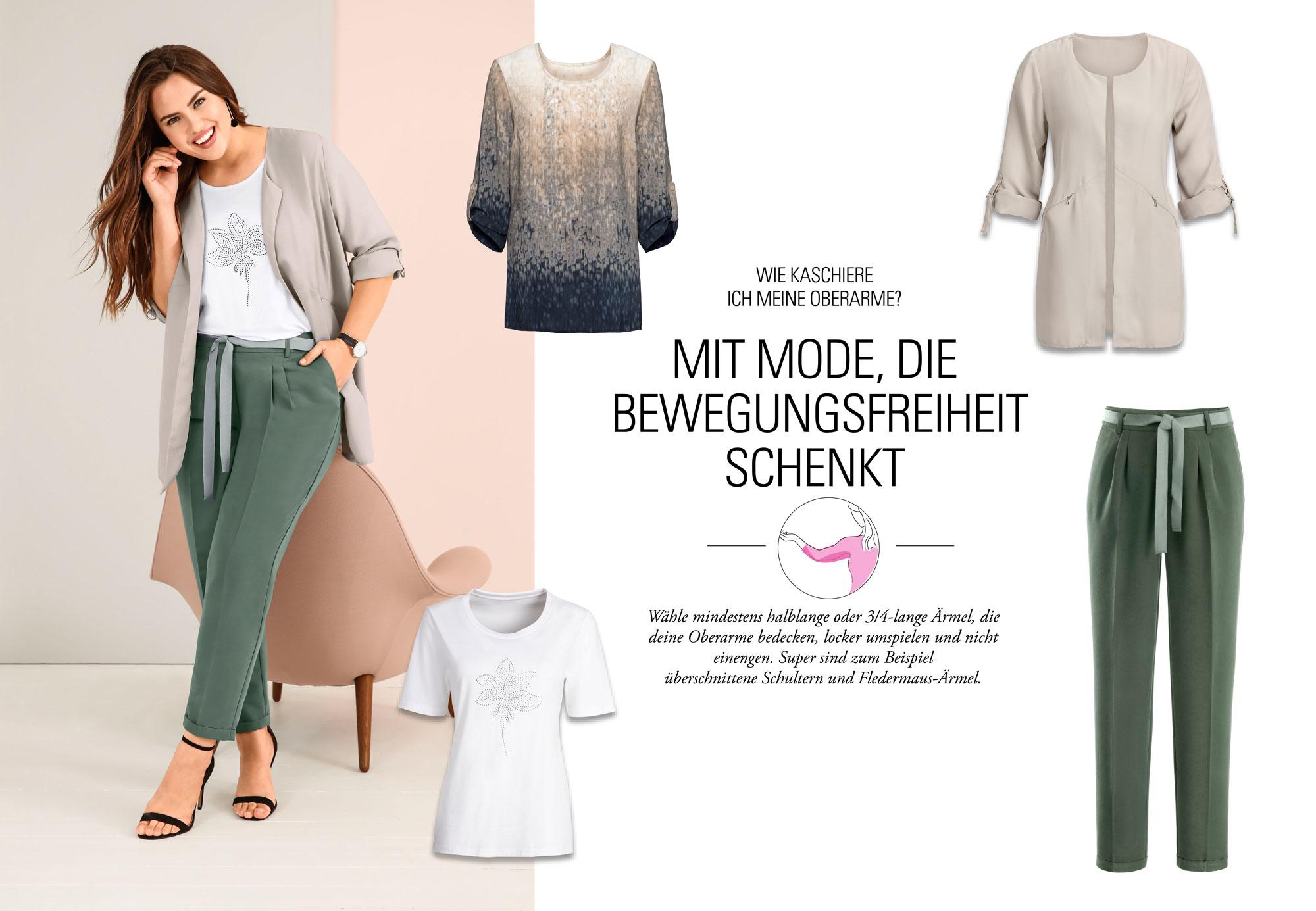 Outfit 1: Aline: Blazer 24,99   Großes Umstyling: Aline