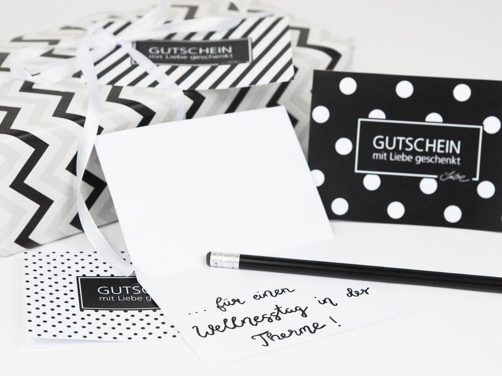Gutschein-Idee für selbst gemachte Geschenke