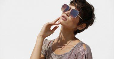 Dame mit Sonnenbrille