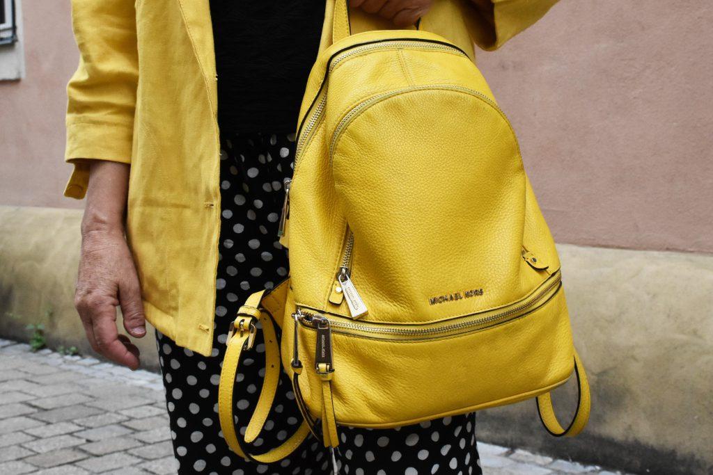 Gelber Damenrucksack