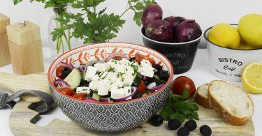 header griechischer salat 375x195 - Griechischer Salat für den Spätsommer