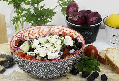 header griechischer salat 380x260 - Griechischer Salat für den Spätsommer