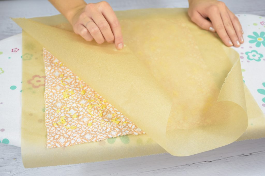 make DIY wax cloth wraps