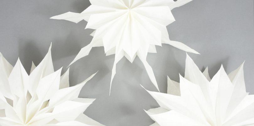 Sterne Aus Butterbrottüten Weihnachtssterne Selber Machen
