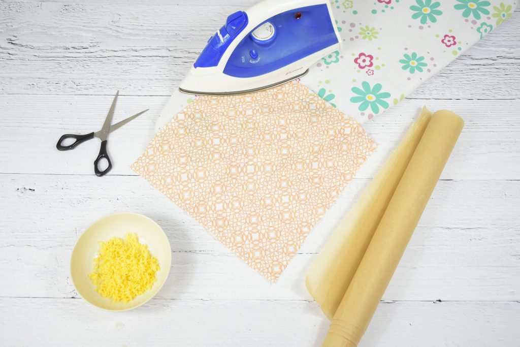 DIY beeswax cloth