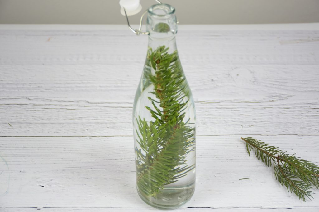 Weihnachtsdeko aus Flaschen