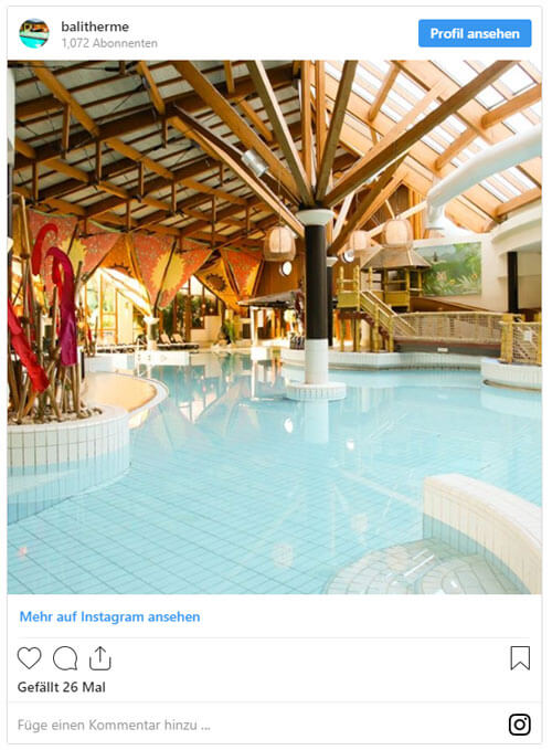 Bali Therme Instagram Thermen in Deutschland - Thermen in Deutschland
