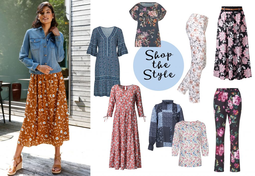 Shop the Style Blumenmuster