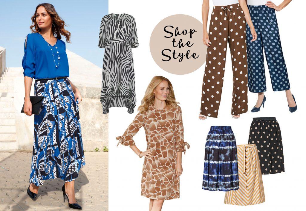 Shop the Style: Gestreift, gepunktet und facettenreich