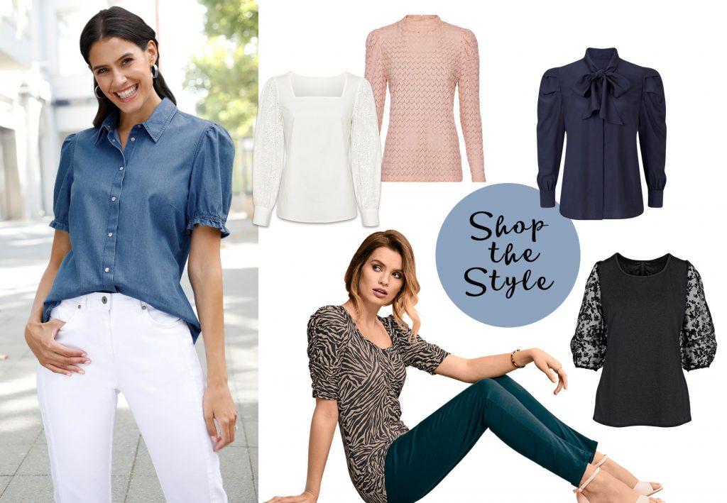 Shop the Style: Romantische Puffärmel