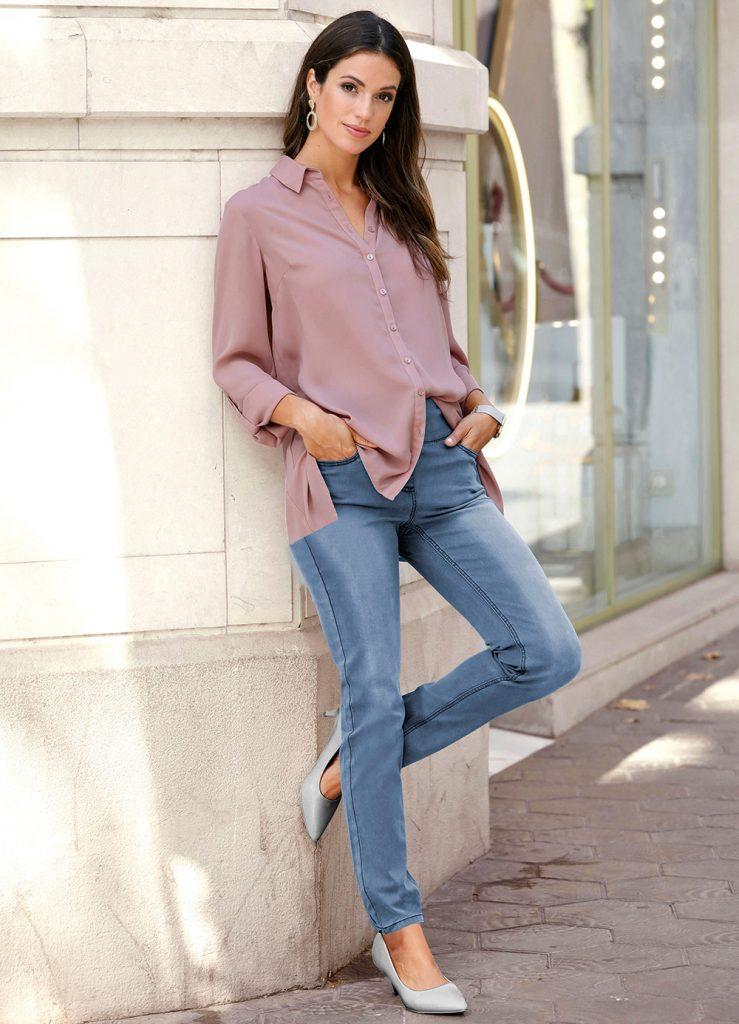 Mode Klassiker Blue Jeans