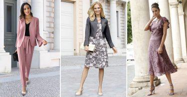 Festliche Outfits und Kleider für die Brautmutter