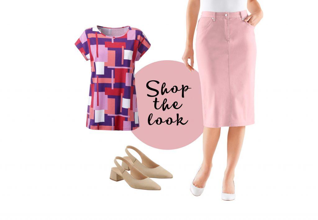 Color Blocking mit Pink