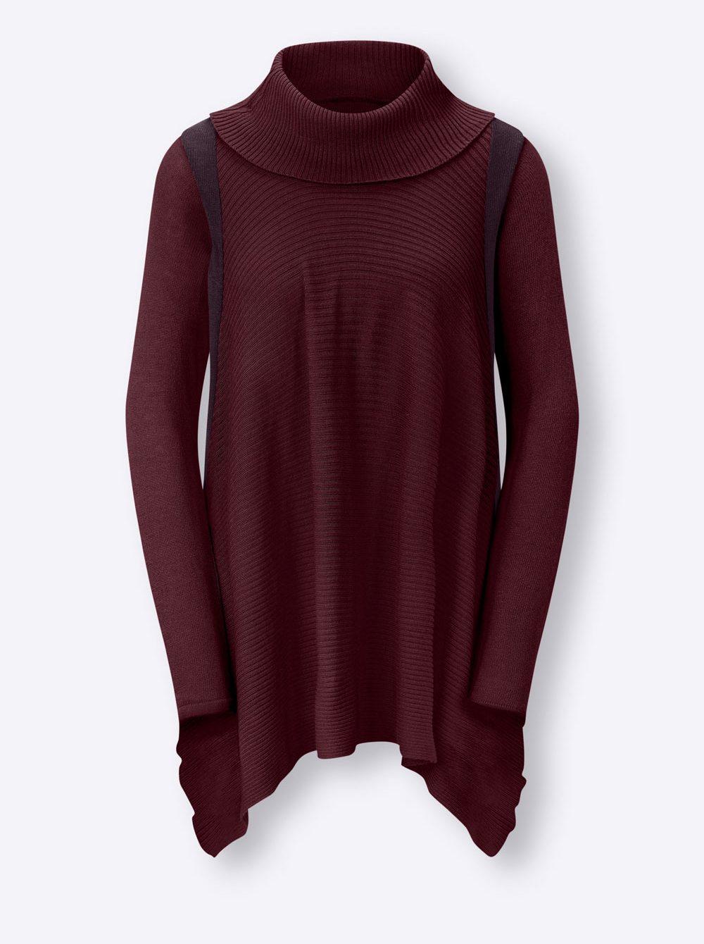 Oversize Turtleneck Pullover