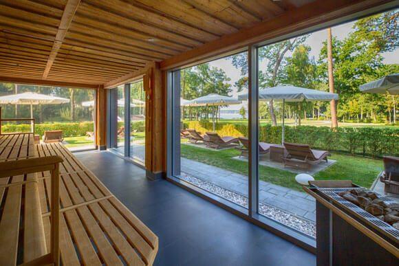 Thermen in Deutschland - SaarowTherme Saunabereich