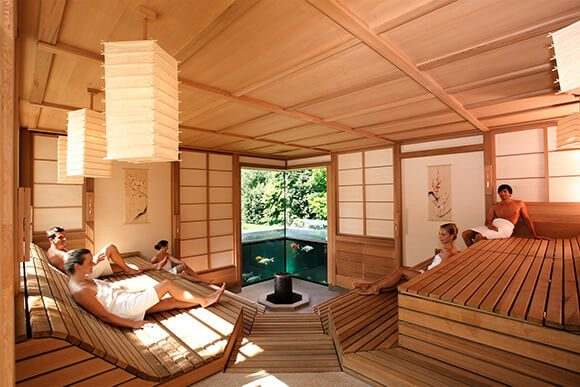 Sauna in Deutschland: Therme Bad Wörishofen